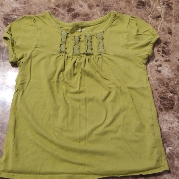 Lands' End Other - Lands End Olove Green Girls Shirt Size M 5/6